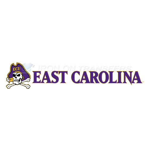 East Carolina Pirates Iron-on Stickers (Heat Transfers)NO.4311